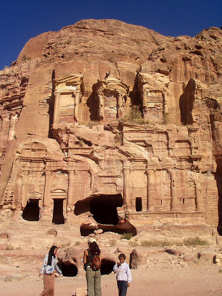 Petra; Corinthian Tomb, another of the royal tombs