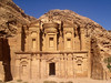 Petra; the Monastery -- an absolutely amazing structure carved out of the surrounding mountain