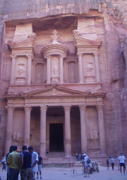 """The Treasury; you might remember it from the first """"Indiana Jones"""" movie"""