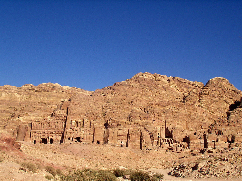 A view of all the royal tombs