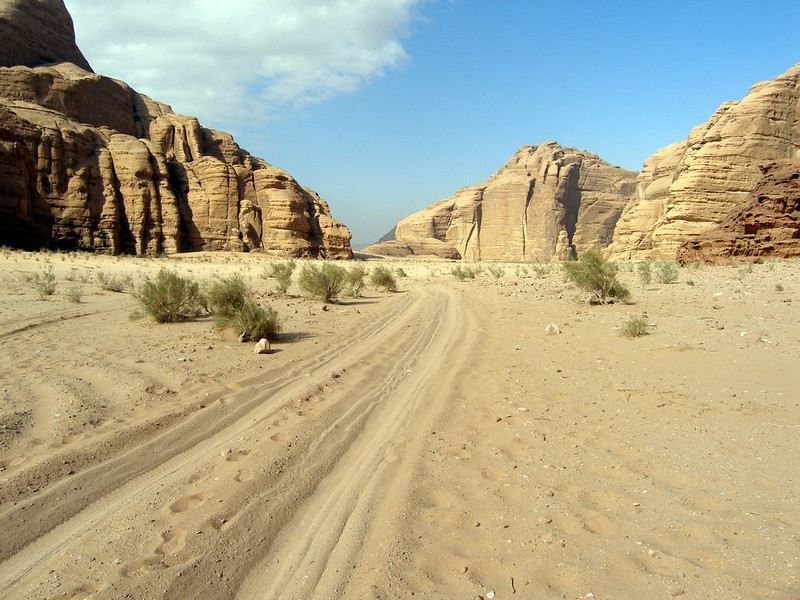 Wadi Rum; the long road to...who knows where?
