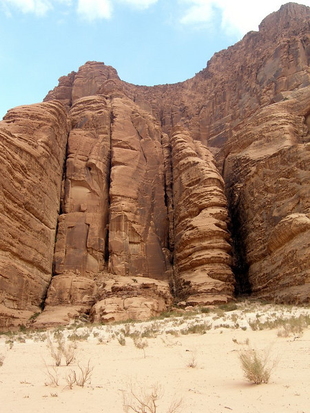 Wadi Rum; rock formation