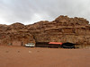 Wadi Rum; camp where we spent a night with the Bedouin