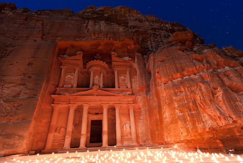 Candle Ceremony at Petra, Jordan
