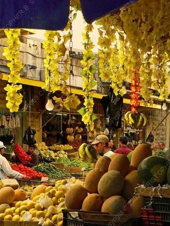 Jordan - Amman - al-Bukhariyya suq - fruit market