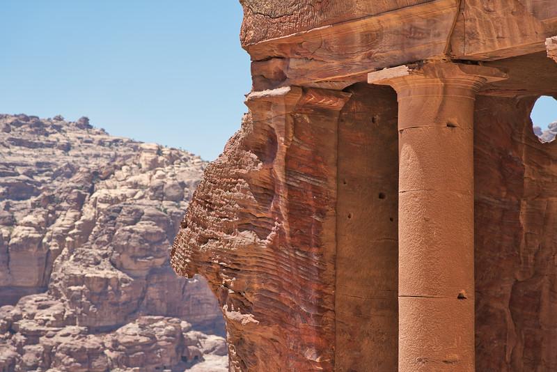 Petra Royal Tombs Column