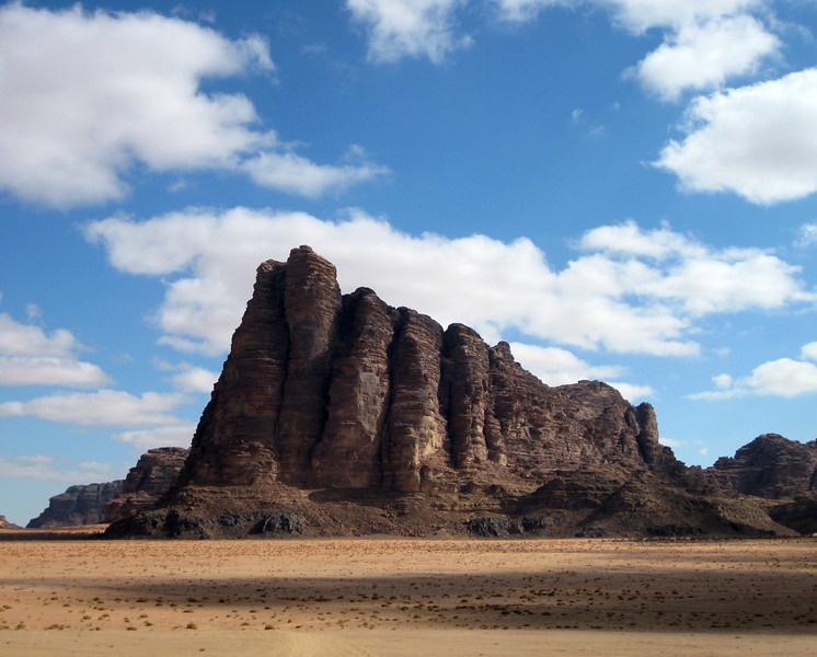 The Seven Pillars of Wisdom, Wadi Rum.