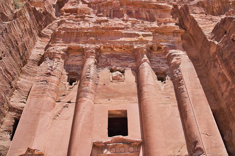 Petra Royal Tombs Closeup