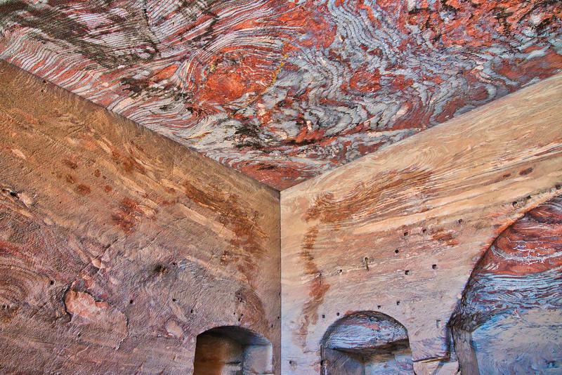 Petra Royal Tombs Interior