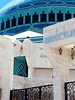 Jordan - Amman - King Abdullah Mosque - gate