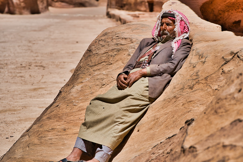 Resting Jordanian