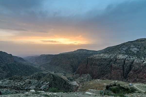 Sunset at Dana