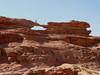 The rock bridge Um Fruth
