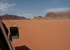 The red sands of Wadi Rum.