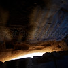 This is right over the entrance to the castle -- the opening is so that boiling oil could be poured on entering enemies.
