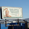 Funny billboard in Tehachapi