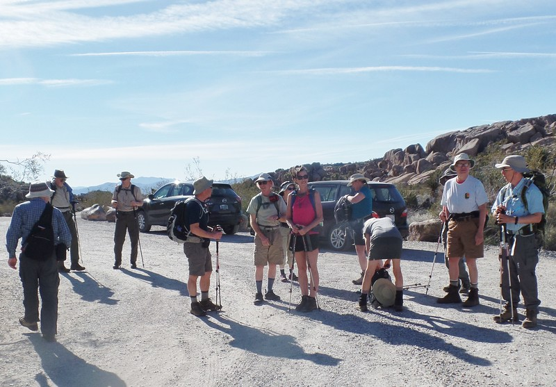 Day 1 Start Split Rock Trail