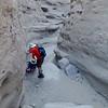 Quartz Vein Wash slot canyon