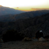 """A couple watching the sun set behind San Jacinto peak at Keys View. A photo of a different couple is my <a href=""""http://jawsnap.smugmug.com/gallery/4429824_zbVM5#475982659_cCrsT"""">Valentine's photo of the day</a>."""
