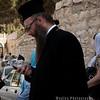 Eastern Orthodox priest on the Via Dolorosa