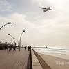 The boardwalk at Tel Aviv's port