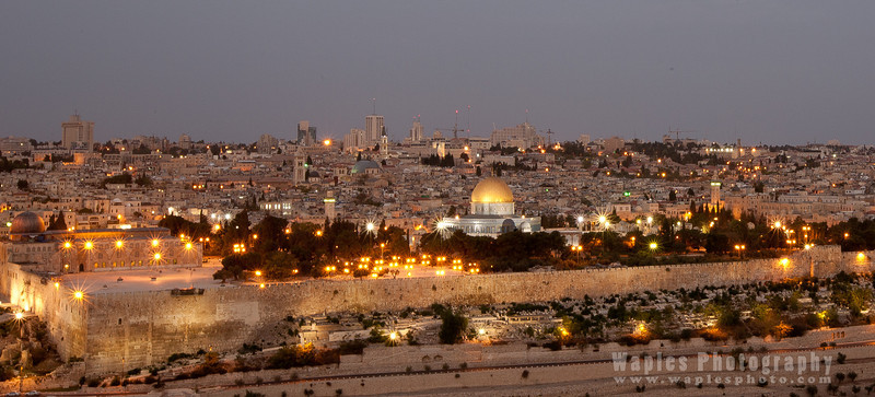 The Temple Mount at Dawn