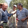 Gad with Olive harvesters