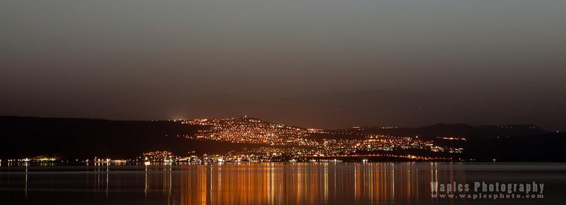 Tiberias and the Sea of Galillee