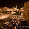 Entering the Tower of David