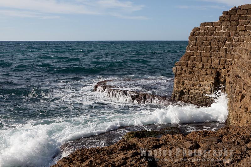 On the Israeli Mediterranean coast