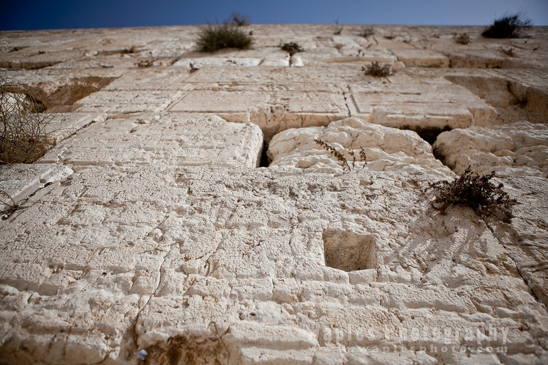 Heights of the Western Wall