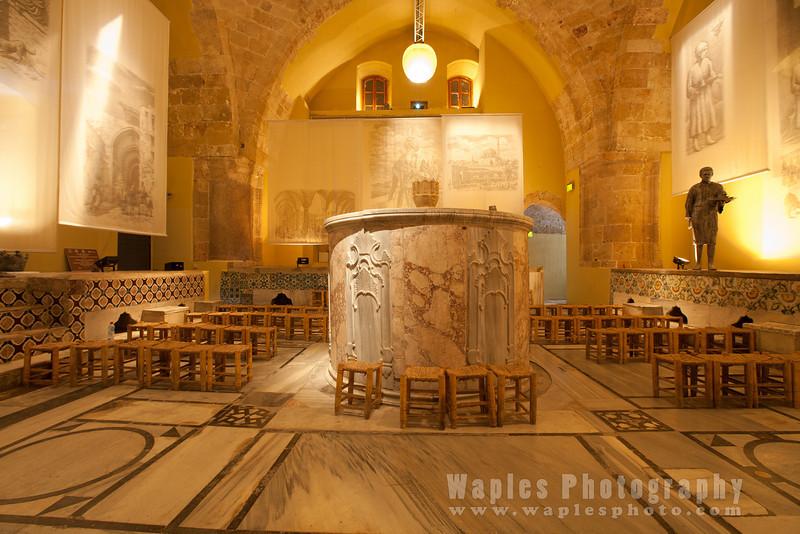Room in the Hamam al-Basha