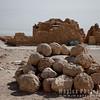 "Stone ""canon"" balls used the the Sicarii Zealots"
