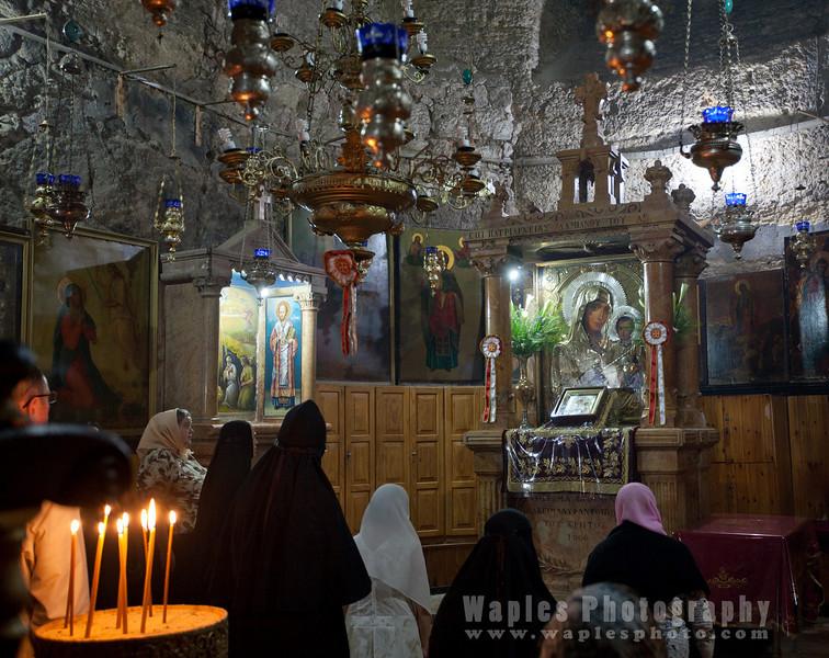 Chapel inside the Tomb