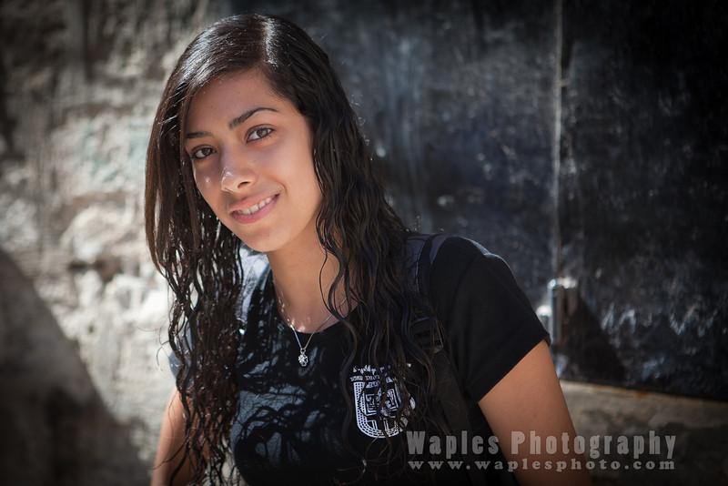 Young Israeli Woman