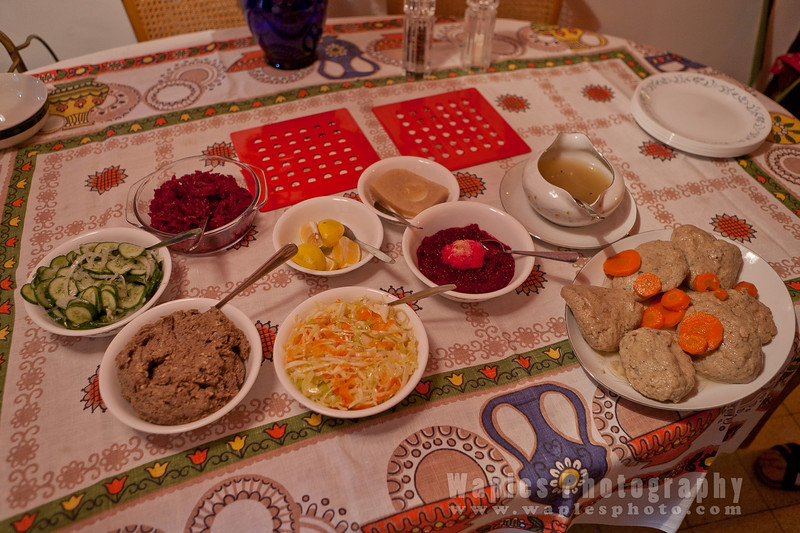 Traditional dishes from Ashkenazi Jewish Culture