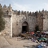 The Damascus Gate, entry into the Old City
