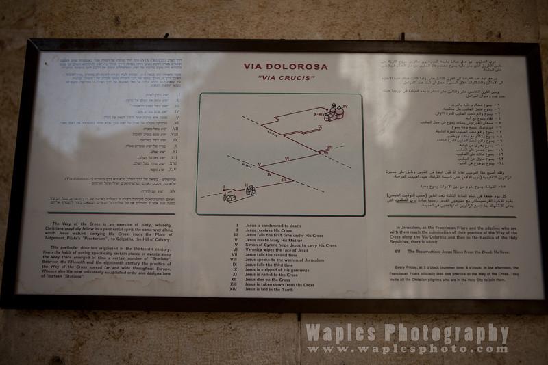 Route of the Via Dolorosa