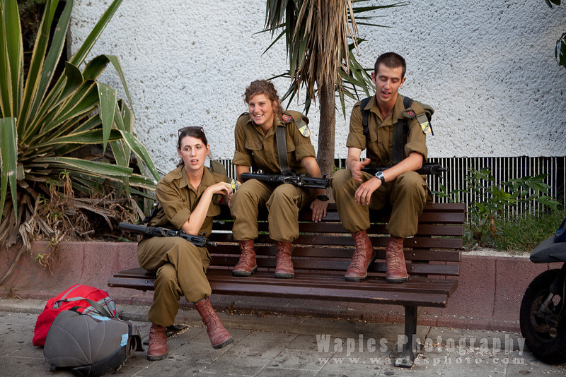 IDF beginning leave for the Sabbath