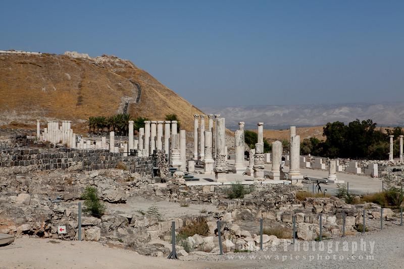 Ruins of Bet She'an (Scythopolis