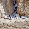 Notes left at the Western Wall