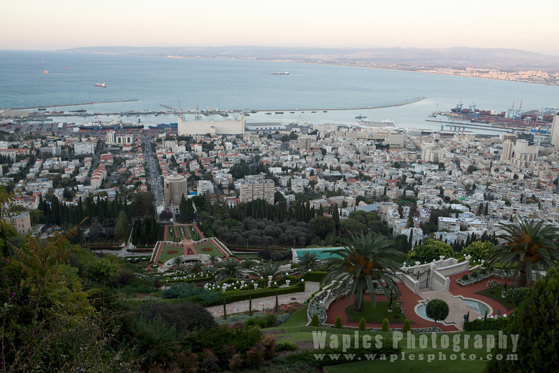 Haifa, the Terraces of the Bahá'í Faith