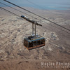 Tram Climbing to Masada and Dead Sea (Salty Sea)