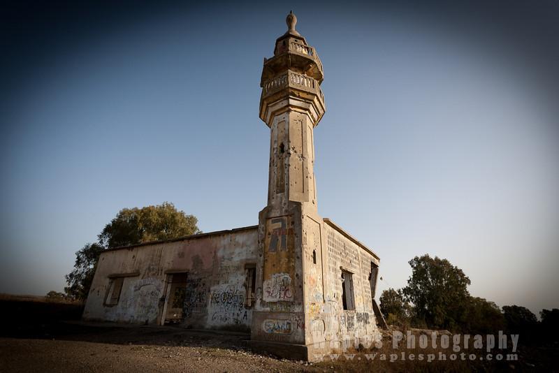 Derelict Mosque, Golan Heights