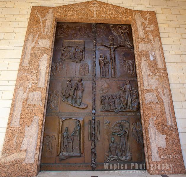 Doors, Church of the Annunciation