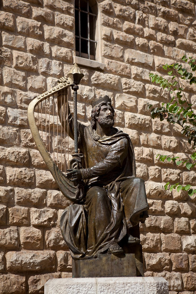 King David, the musician