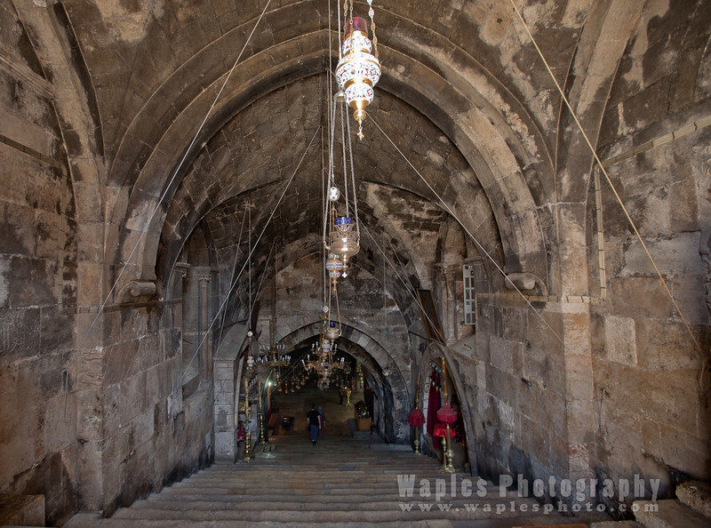 Descending into the Tomb of Mary