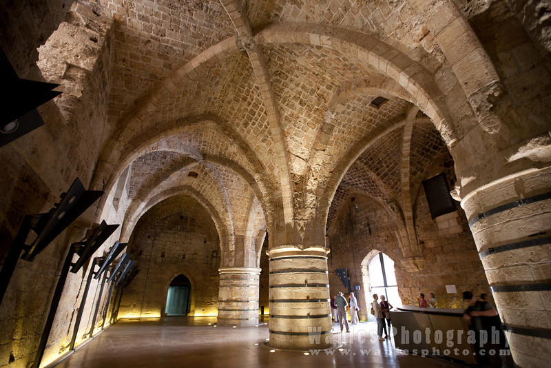 Inside the Citadel of Acre