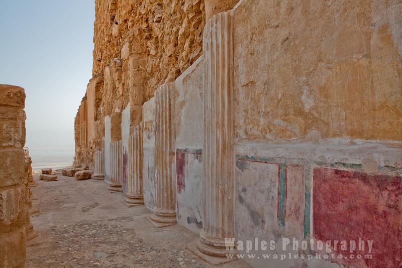 Painted Walls and Pillars
