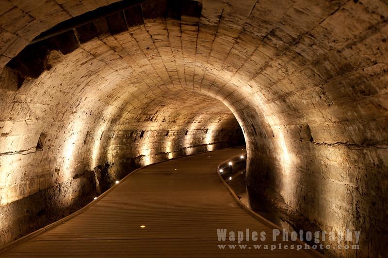 Templar Tunnel, Acre Citadel